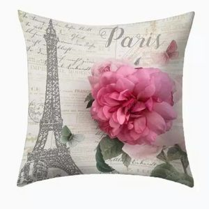 Other - Pillow Cover Eiffel Tower